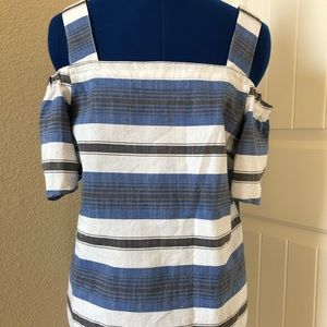 Lucky 🍀 Brand Striped Top-Size S